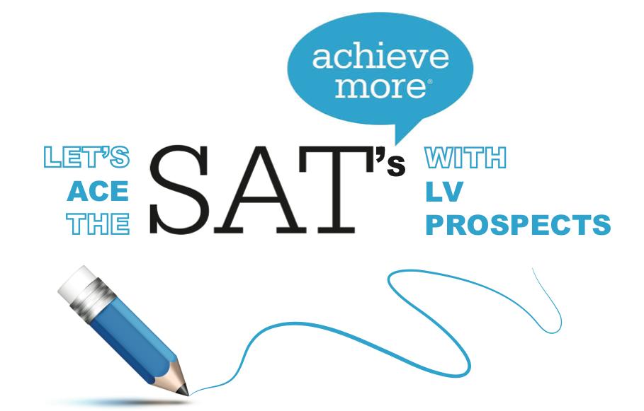 Intenzivne priprave na SAT izpit pri LV Prospects
