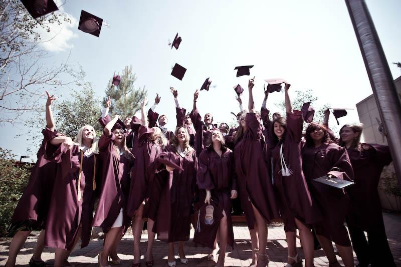 Graduation - Študij v ZDA
