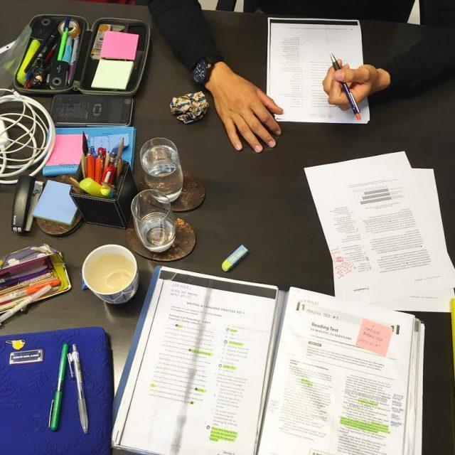 Creative mess na individualnih SAT pripravah gettingready SATprep aiminghigh studijvZDAhellip