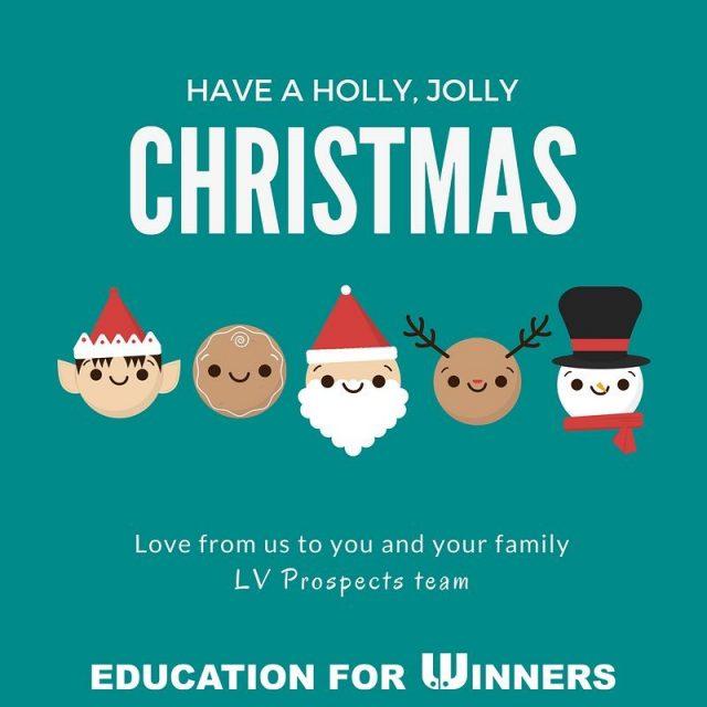 Merry Christmas everybody!  LVprospects EducationForWinners studijvZDA stipendije